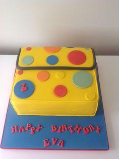 Mr Tumbles bag cake