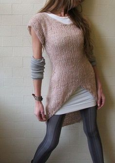 Jumper sweater dress: