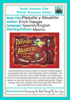 Discovering The World Through My Son's Eyes: Paquito y Abuelito Read Around the World Summer Series