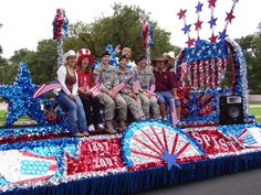 The Belton Parade is the biggest 4th of July celebration in Texas. and it goes right past our store in downtown Belton!