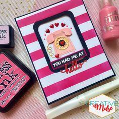 #greetingcards #handmadecards #diy #diycards #diycrafts #diycraftideas #diecutcards #artsandcrafts #valentinescards Die Cut Cards, Diy Cards, Stationery, Arts And Crafts, Greeting Cards, Create, Pink, Papercraft, Rose