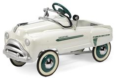 A 1952 General Sad Face pedal car by Murray,  Approximately 37 ins. long