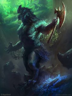 The dragon tribe God (Normal) by *MikeAzevedo on deviantART