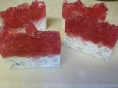 Ruby Red Rose scented Crystal Soap by RavensRestShop on Etsy, $5.75