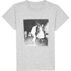T-shirt Malik Sidibé chine blanc