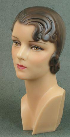 1930s head mannequin.