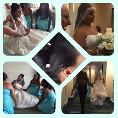 Wedding party with Thehairdoctor