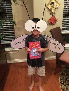 Character parade costume for book fair kick off at School.  We did Fly Guy!