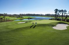 Smooth greens at  Waldorf Astoria Orlando's Rees Jones-designed championship course.