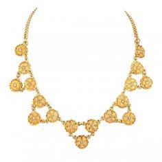 Cute Flower Colares Femininos Choker Necklace For Women