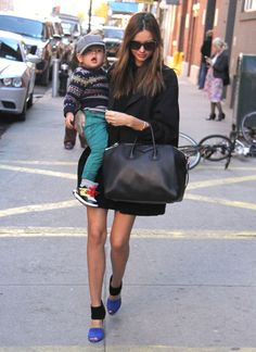 Miranda Kerr and Flynn Bloom Explore NYC
