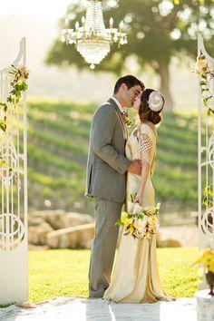 Great Gatsby Style-2014 Hottest Wedding Trends Romance, Formality, Gatsby