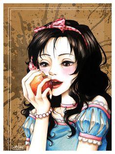 Snow White Facing Her Death  by *Loonaki