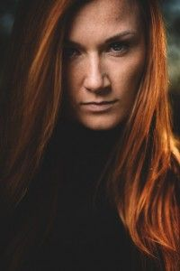 modelka:  Dominika #portret #kobieta #piegi #ruda #photo #redhair #rewa