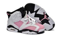http://www.kids-jordan.com/kids-jordan-6-retro-white-black-pink-p-516.html?zenid=f16107hm981bq7feauno467ik3 Only  KIDS #JORDAN 6 #RETRO WHITE BLACK PINK  Free Shipping!