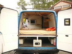 van converted into camper