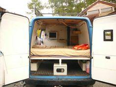 van converted into camper