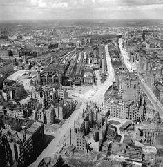 Berlin 1945 Der Stettiner Bahnhof