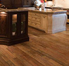 Hardwood Floors: IndusParquet Hardwood Flooring - 1/2 IN. x 5 IN. Engineered Handscraped Exotics - Brazilian Chestnut
