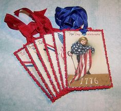 4th of July Fourth of July Americana Patriotic Red White and