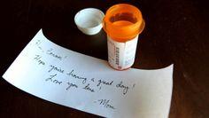 Mom Leaves Sweet Little Note For Sixth-Grader In ADD Prescription Bottle