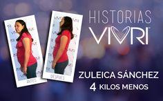 Zuleica Sanchez Bajé 3 kilos y se me quitó la pancita que tenía como de 7 meses de embarazo. ¡Me encanta VIVRI™!