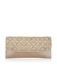 f0b3a6e196d4 Jasmine Glitzy Diamond Clutch Bag