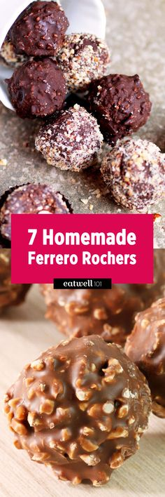 These homemade Ferrero Rocher recipes will have all of your friends impressed and asking for more.