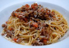 Asopaipas. Recetas de Cocina Casera                                                               .: Espaguetis con Ternera Picada