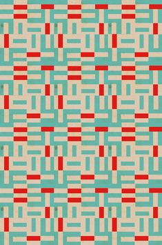 red : light blue : geometric