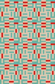 red : light blue : geometric