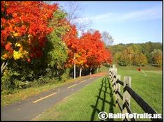 rails to trails maps across the u.s.