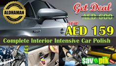 Complete Interior Intensive Car Polish for AED 159.
