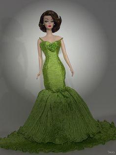 OOAK Silkstone Barbie by -Twisty-, via Flickr