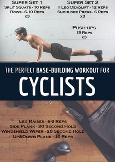Winter isn't done with us by a long shot, but the holiday reprieve from training has come to an end. The cold weather season is the perfect time to rebuild your base and gain strength. The Perfect Base-Building Workout for Cyclists http://www.active.com/c