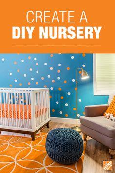 Create a beautiful and functional nursery with the help of BEHR paint. Find the right color scheme and get helpful decorating tips on The Home Depot Blog.