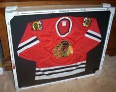 hockey stick jersey frame