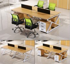 Cheap price factory direct modern commercial furniture 4 person office workstation antique aluminium partition