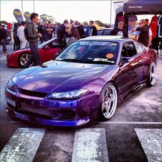 Nissan Silvia S15 That paint job though!