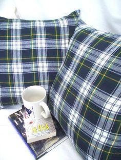 Gordon Tartan Plaid Pillow Covers