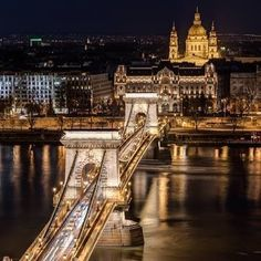 Budapest Hungary...taken earlier this year from the old town of Buda towards Pest featuring the #chainbridge #budapest #hungary #nikon #night #bridge #instagood #river #danube #followme #like4like #light #easterneurope #beauty #city #capital @budapest_hungary @budapestfoodguide @budapesteye_official