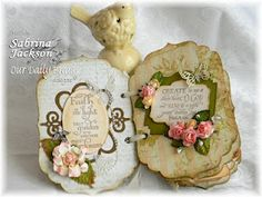 Encouraging through crafting is great for the soul... be it the admirer's or the crafter's.