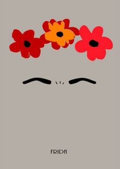 Frida Kalho minimal poster Source by Frida Tattoo, Frida Kahlo Tattoos, Frida And Diego, Frida Art, Minimal Poster, Idee Diy, Mexican Art, Illustrations Posters, Iphone Wallpaper