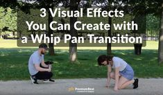 In this video tutorial, learn three straightforward ways you can create your own movie magic with these easy whip pan transition tricks.