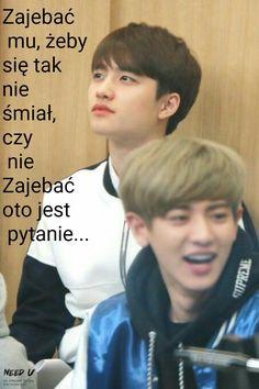 Piękny szatyn !!! K Meme, Exo Memes, K Pop, Polish Memes, About Bts, Meme Faces, Kyungsoo, Shinee, Jimin