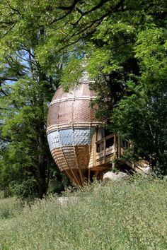 chambre lodge Chrysalide- Hotel insolite près du Puy du Fou