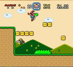 Super Mario World - Wikipedia, the free encyclopedia