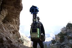 Another stellar addition to Google's Street View | Google Trekker backpacks head to the Grand Canyon