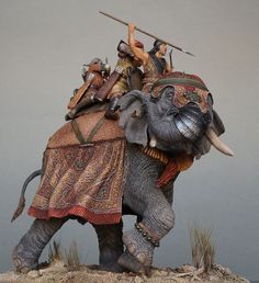 Фрагменты Elephant Sculpture, Sculpture Art, Figure Painting, Figure Drawing, War Elephant, Punic Wars, Military Figures, Fantasy Inspiration, Toy Soldiers