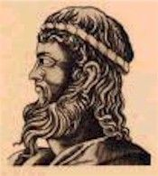 """Anaximenes of Miletus : (6th Cent BCE) :  """"Material monism. Source of everything is air"""""""